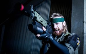 Big Boss - Metal Gear Solid : Peace Walker by Wolfenheim84