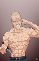 Victor Zsasz on the loose by phil-cho