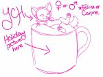 YCH: Hot Chocolate SOLD) by AgentAnarchy