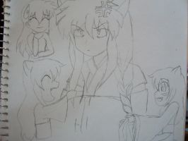 InuYasha and kids by TheCape99
