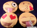 Emoji Plushies Giveaway by Whyte-Raven