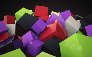 Cubes by JoeWithers
