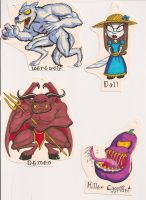 Halloween Gift Tags 02 by Gummibearboy