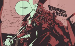 Revolver Ocelot by WallaceWest