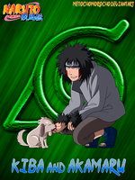Kiba And Akamaru by metochomorocho