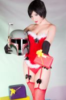 Santa Fett 03 (Boba Fett Christmas Edition 2012) by Kitty-Honey