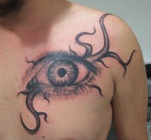 Third eye man by tatuato