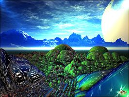 LANDSCAPE OF SIGMA ORIONIS by DorianoArt