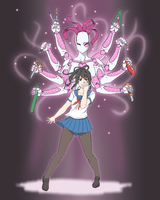 Yandere Simulator: Stand Concept by aea