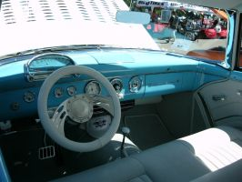 customized 1955 Ford Victoria interior by RoadTripDog