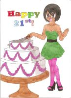 Happy 21st Birthday by animequeen20012003