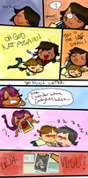 Noah's Cuddle Fiasco by MirrorCover