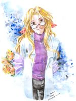 amiable scientist by tifachan