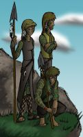Plains People by dragonsong12