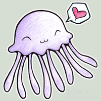 """The Jelly Looooves You"""" :3 by Inkshadow"""