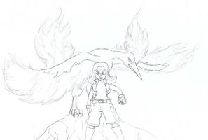 Ila and the Mighty Moltres- Request by BudokaiHyuga