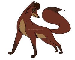 Kovu fox by besavampiresa