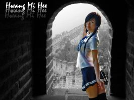 Hwang Mi Hee Wallpaper Color by crabdude