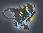 Mega Luxray speculation by Appletail