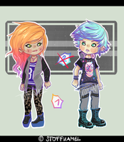 Ultra Hipster-Punk Adopts (CLOSED) by Stoffkamel