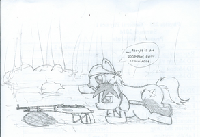 Sketch - Target Practice by ProfessionalPuppy