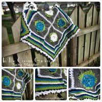 In The Queen's Garden Baby Blanket by the-carolyn-michelle