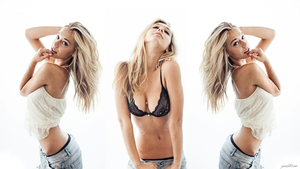 Alexis Ren (Model) Simplicity 1080p Wallpaper by Bears85yemi