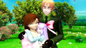 Small Family Filled with Love by luyna