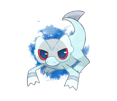 Fakemon Starter Commission by DevilDman