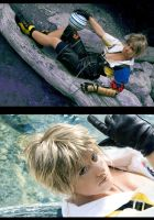 Tidus - Shadow and Light by NanjoKoji