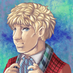 6th Doctor Speed Paint by Hokutochan15