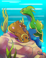 Favorite Water Type: Gastrodon