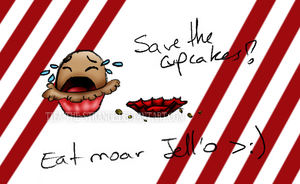 Cupcake murder by Tifa-the-Strange