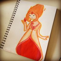 Flame Princess by pointy-bras-hurt