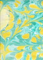 Paper Marbling 6 by approachableart