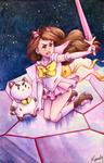 Bee and Puppycat by PrincessLaguia