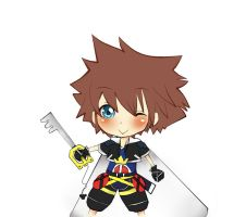chibi sora color by destinedone123