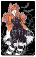 Halloween Ally by obliviousally