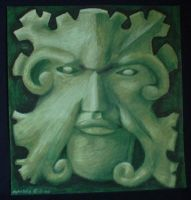 Canterbury Green Man by meglish