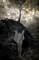 Priestess in Infrared - 5 by tree3art