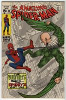Spidey vs. The Vulture colored by angryrooster