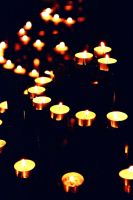 Church Candles by augustinesoong