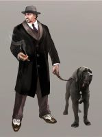 Mafia character concept 3.2 by Panda-Graphics