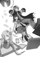 A Step To Another World - Ib / WIP by Kay-Jay97