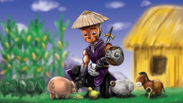 DotA 2 Farming Mage by ButtZilla