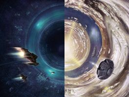 Rendezvous With Rama Diptych by TomislavTikulin