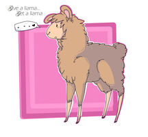 Llamas for Llamas by JayGeeBear