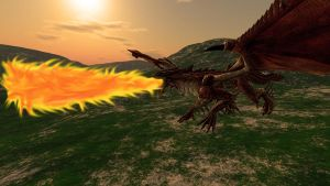 dragon fire 1 by Spays