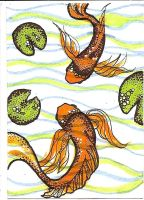 ATC Dottie Koi by claudiamm37