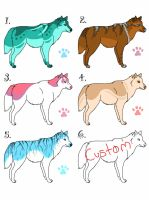 FREE Canine Adopts - Closed by Embers-Adopts